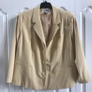 """The """"IT"""" color for fall 2019! Beige Blazer sz 28"""